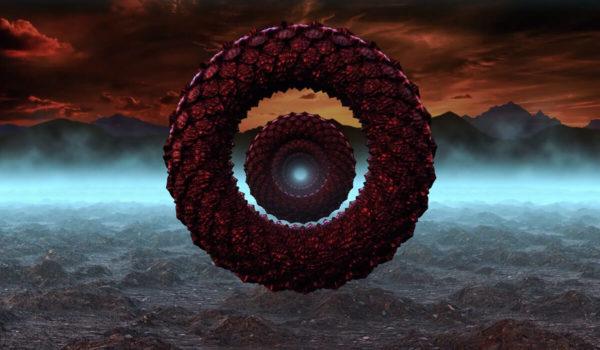 VJ Loop ETERNAL con escamas de dragón disponible para descargar, utilízalo para tus próximos proyectos de ciencia ficción